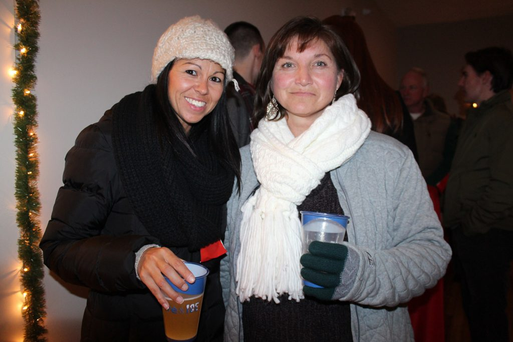 Brenna Millett and Melissa Barstow. All 3,000 tickets for the two nights of Fire & Ice at The Nonantum Resort sold out.