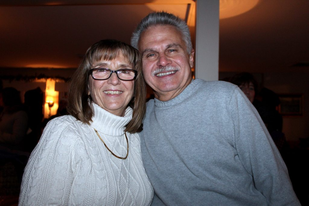 Linda and Jim Mahaney of Wells. Kennebunkport's Fire & Ice weekend has grown to rival the first weekend of the Christmas Prelude celebration.