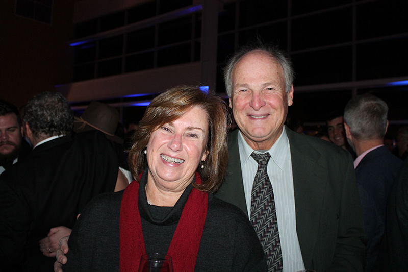 Pam and Mark Bernstein of Scarborough attended the Northern Lights Christmas Charity party at Ocean Gateway.