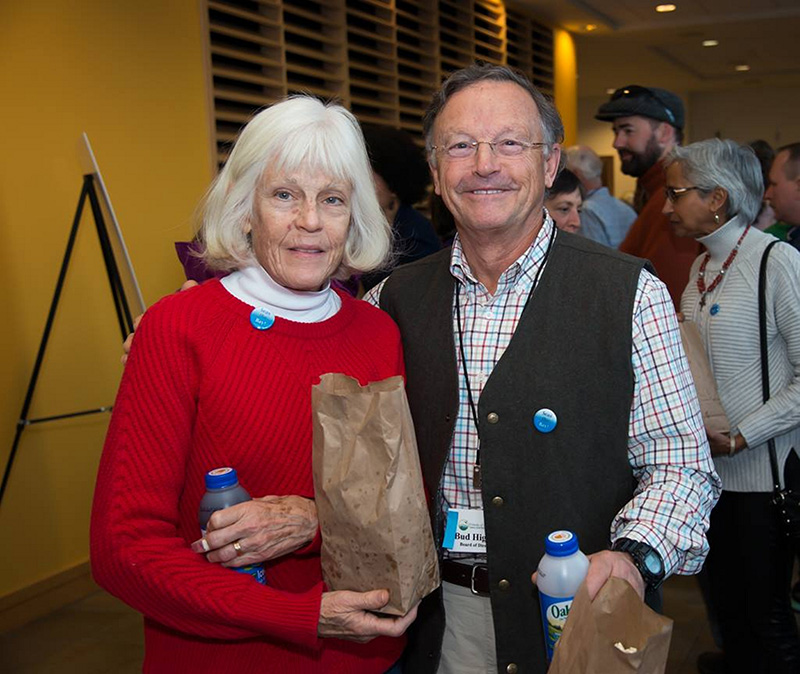 NOV. 12: Peaks Islanders Cheryl and Bud Higgins were among the attendees at the  Friends of Casco Bay's Annual Wild & Scenic Film Festival.