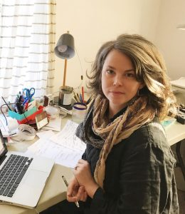 "Abigail Gray Swartz, a freelance illustrator, says it has been her long-held dream to work for The New Yorker, ""so I am pinching myself now that it has happened."""
