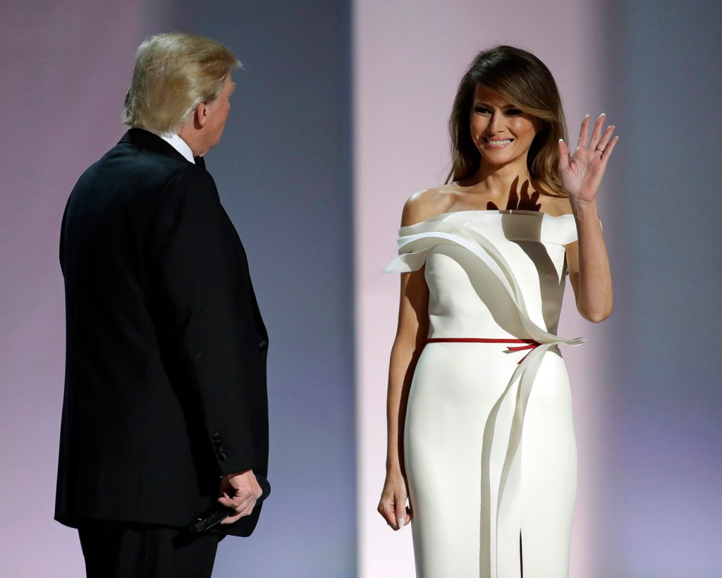 Melania Trump wins inaugural fashion: What message did others send?
