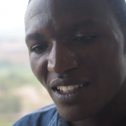 "Evariste Munyensanga was featured in the documentary ""Into the Heart of Rwanda."""