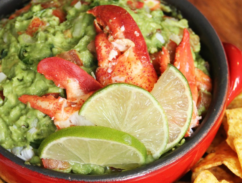 Maine Lobster Guacamole Photo courtesy of Maine Lobster Marketing ...