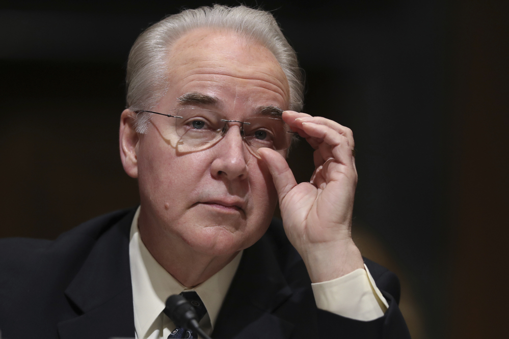 Health and human services secretary Tom Price, seen at his confirmation hearing on Jan. 24, was expected from the start to help lead the Republican drive to repeal and replace the Affordable Care Act.