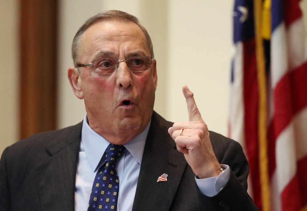 Gov. Paul LePage wrote to House Speaker Paul Ryan to complain that the replacement plan retains too many provisions of the ACA.