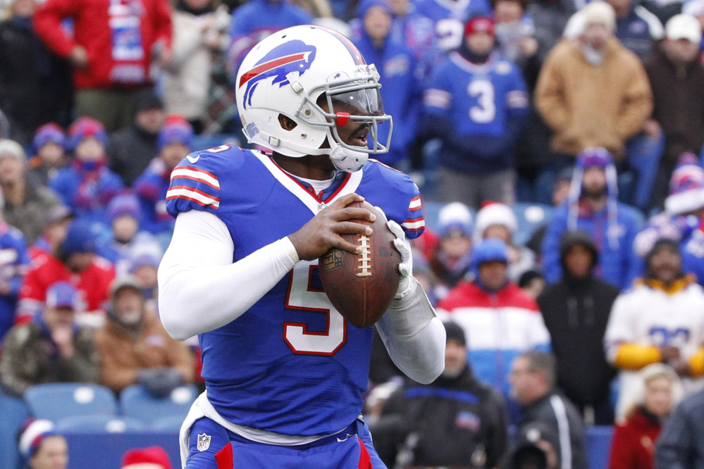 Tyrod Taylor had his five-year contract extension restructured and will remain as the starting quarterback for the Buffalo Bills for a third season.