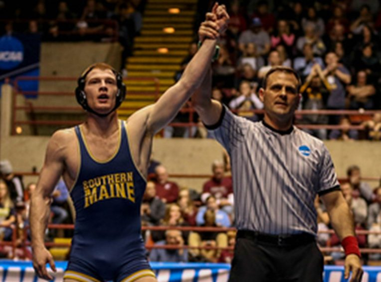 Daniel Del Gallo had his arm raised in victory a lot during his career at USM, including the final match of his career when he won a national title.