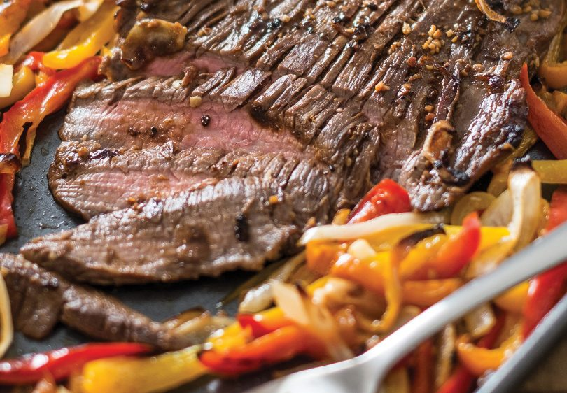 Our cookbook reviewer found that the sheet pan fajitas