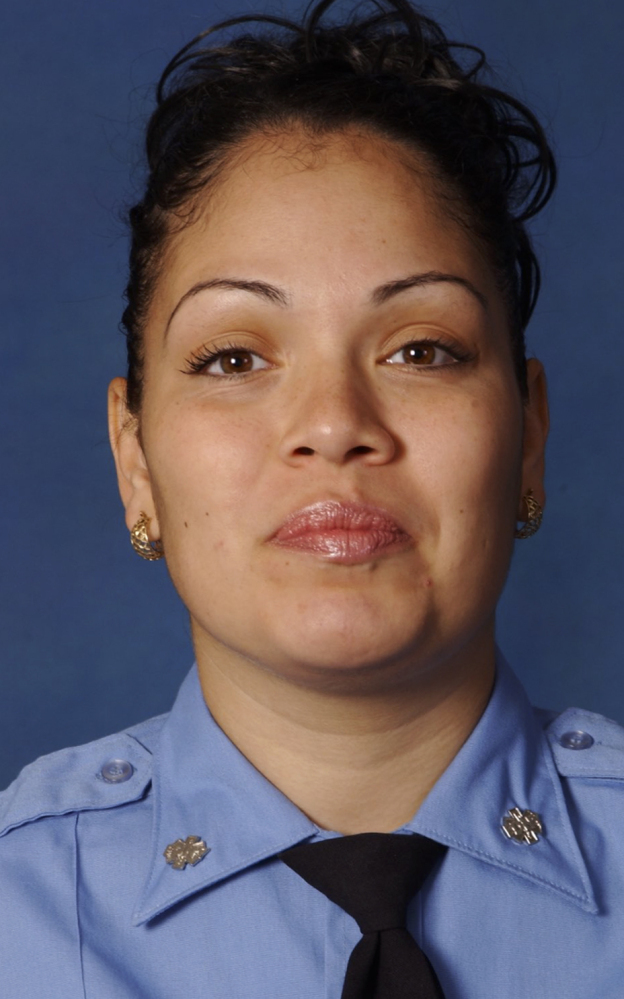 . Police said the EMT in New York City died after she was run over Thursday, March 16, 2017, by her own ambulance that had just been stolen. (Fire Department of New York via AP)