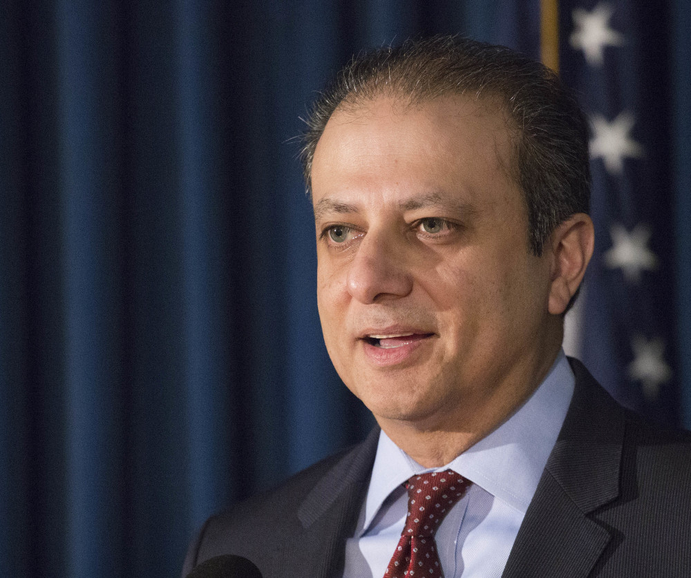 Former U.S. Attorney Preet Bharara was reportedly investigating Health and Human Services Secretary Tom Price's stock trades when he was fired.