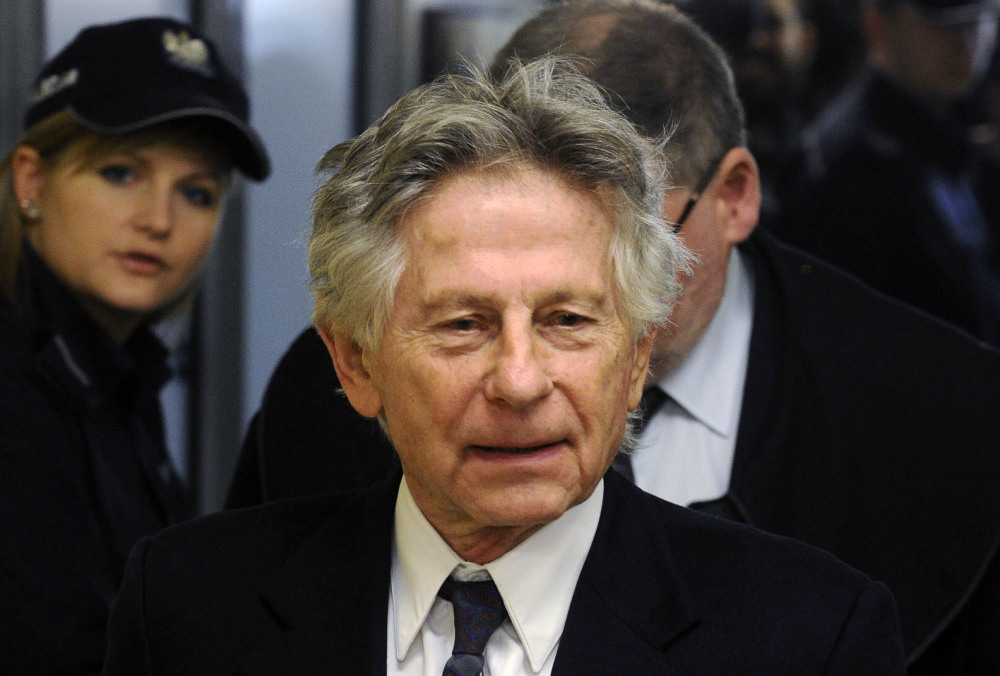 Roman Polanski is shown during a break in a 2015 hearing in Krakow, Poland, concerning a U.S. request for his extradition.