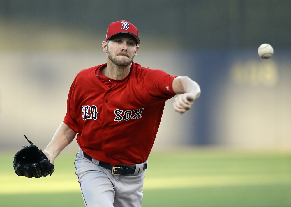 Chris Sale has had an ace-like spring training for the Boston Red Sox, including 20 strikeouts with one walk in 16 innings. He helped the Red Sox to a 4-2 victory against the New York Yankees on Tuesday.