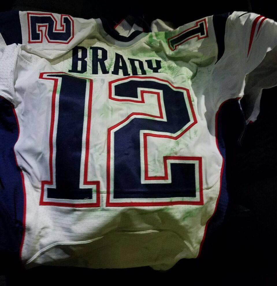 Tom Brady's Super Bowl LI jersey was believed to be recovered by authorities in Mexico City. Brady's jersey went missing from the locker room after the game, and set off an investigation that stretched from Boston to the border.