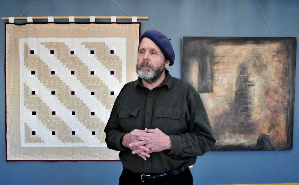 Michael Libby discusses his art and his project