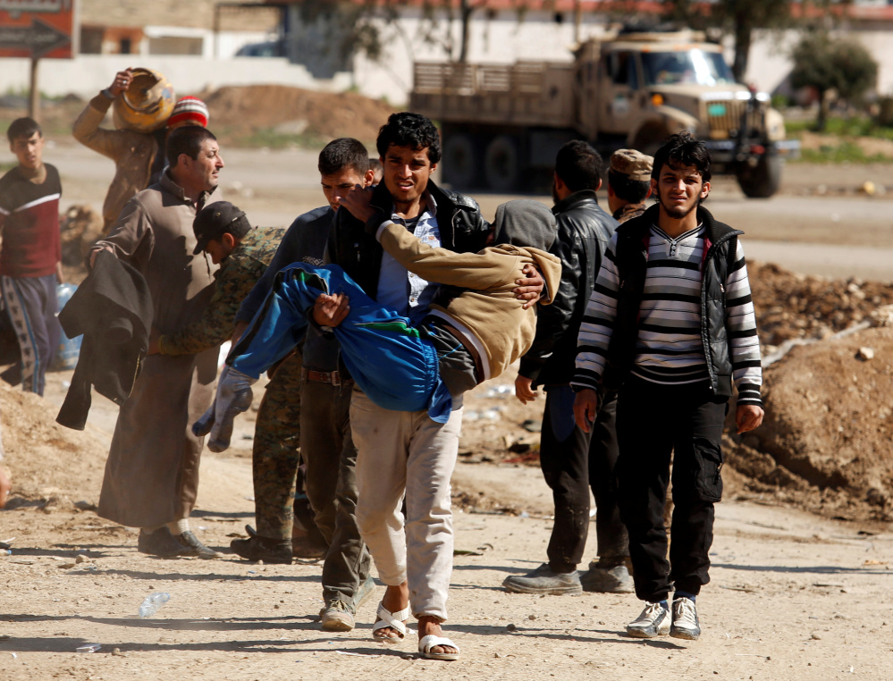 Airstrikes hit ISIS in area where civilian deaths are alleged