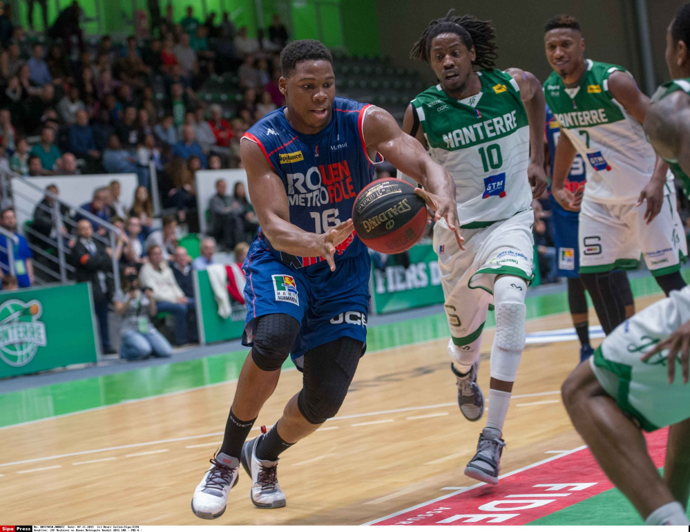 Guerschon Yabusele, set to suit up for the Red Claws on Friday, played for Rouen in France last season before spending this year in the Chinese Basketball Assocation.