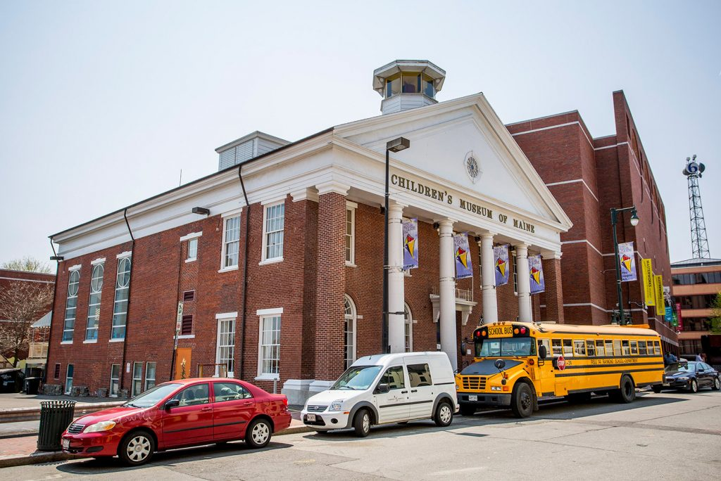 The Children's Museum of Maine has been in this historic 19th-century building on Free Street since 1993. The museum's management began looking for a new home in 2012, wanting to add floor space and parking.