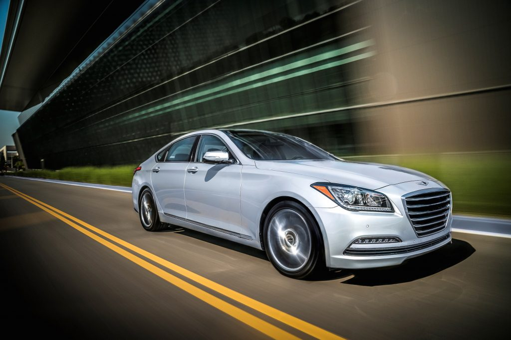 The 2017 Genesis G80 handles well and is a smooth ride on the open road.