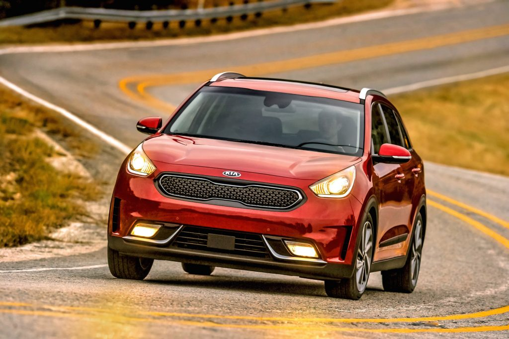 The 2017 Kia Niro.