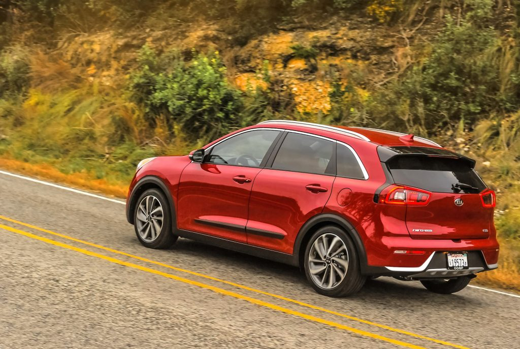 The Kia Niro's base price is $30,545.