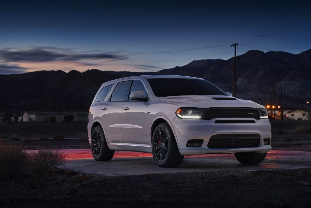 The 2017 Dodge Durango SRT has room for the whole family.