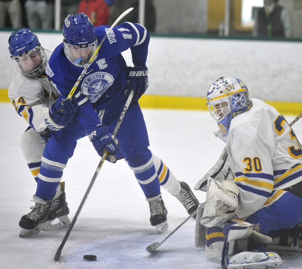 Jeremy Rancourt led Lewiston to consecutive state championships, including a 6-2 win over Falmouth in this year's Class A final.