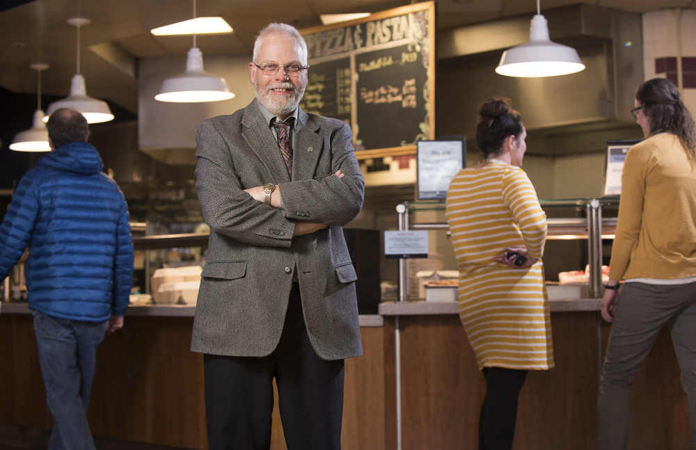 Glenn Taylor, director of Dining Services at the University of Maine in Orono, has reduced food waste and increased the local sourcing of food for the almost 11,000 students who attend the flagship campus in the University of Maine system.