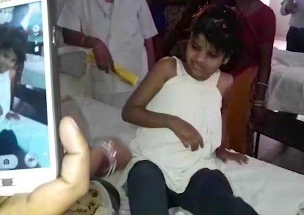 'Mowgli girl' not raised by monkeys, wasn't naked when recovered, claim cops