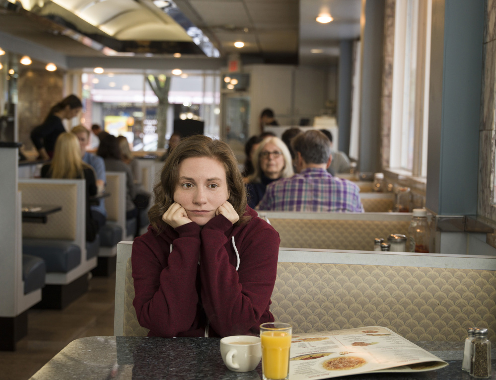 Lena Dunham stars as Hannah in HBO's