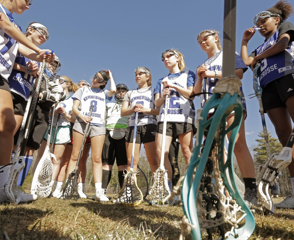 The defending Class B state champion Kennebunk Rams are expected to battle Falmouth for a spot in the title game this spring.