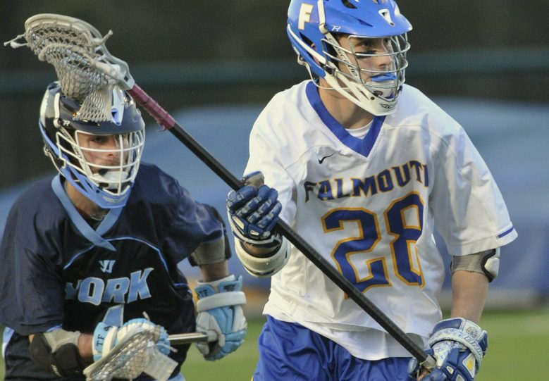 Yarmouth Coach David Pearl says he believes Falmouth defender Brendan Hickey, a 6-foot-1, 185-pound junior, is the best player in the state.