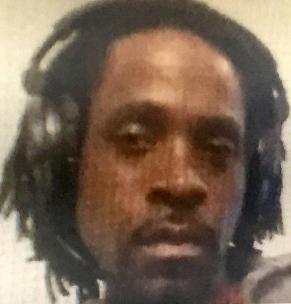 This undated photo provided by the Fresno Police Department shows Kori Ali Muhammad, 39, who was arrested shortly after a shooting rampage outside a Catholic Charities building, in Fresno, Calif, on Tuesday, April 18, 2017. Muhammad is believed to have shot and killed three people on the streets of downtown Fresno on Tuesday, shouting