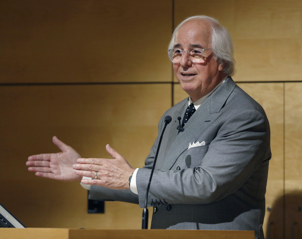 Frank Abagnale Jr., a leading fraud expert and former scam artist featured in the movie