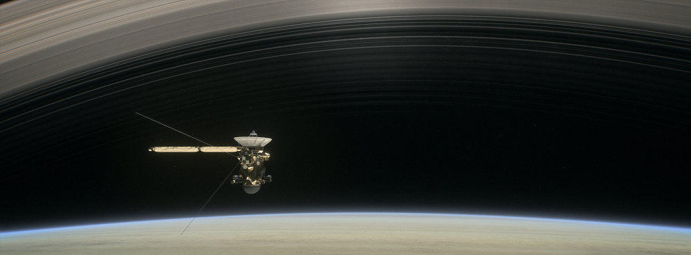 Cassini probe aims for gap between Saturn and its rings ...