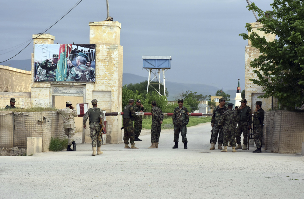 Death toll from Taliban attack on Afghan army base climbs to 170