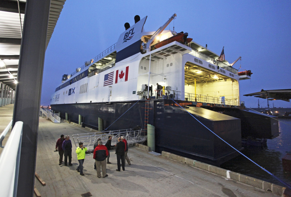 The Portland City Council approved a contract Monday to extend the season for the Portland-to-Yarmouth Nova Scotia ferry service by two weeks. The new lease would also allow the Bay Ferries to lease the ground-floor space in the Ocean Gateway terminal building for an additional $1,400 a month. All told, the amended agreement is expected to generate an additional $16,600 in revenue for the city, which last year received $265,000 in rent, parking and fees. Under the new agreement, Bay Ferries will operate The Cat high-speed ferry service from May 31 to Oct. 15. The Cat, above, ferried 35,551 passengers during the 2016 season, which ran from June 1 to Sept. 31, though the first voyage did not occur until June 15.