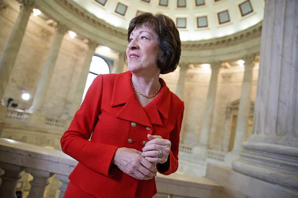 Susan Collins Pondering Bid For Maine Governor