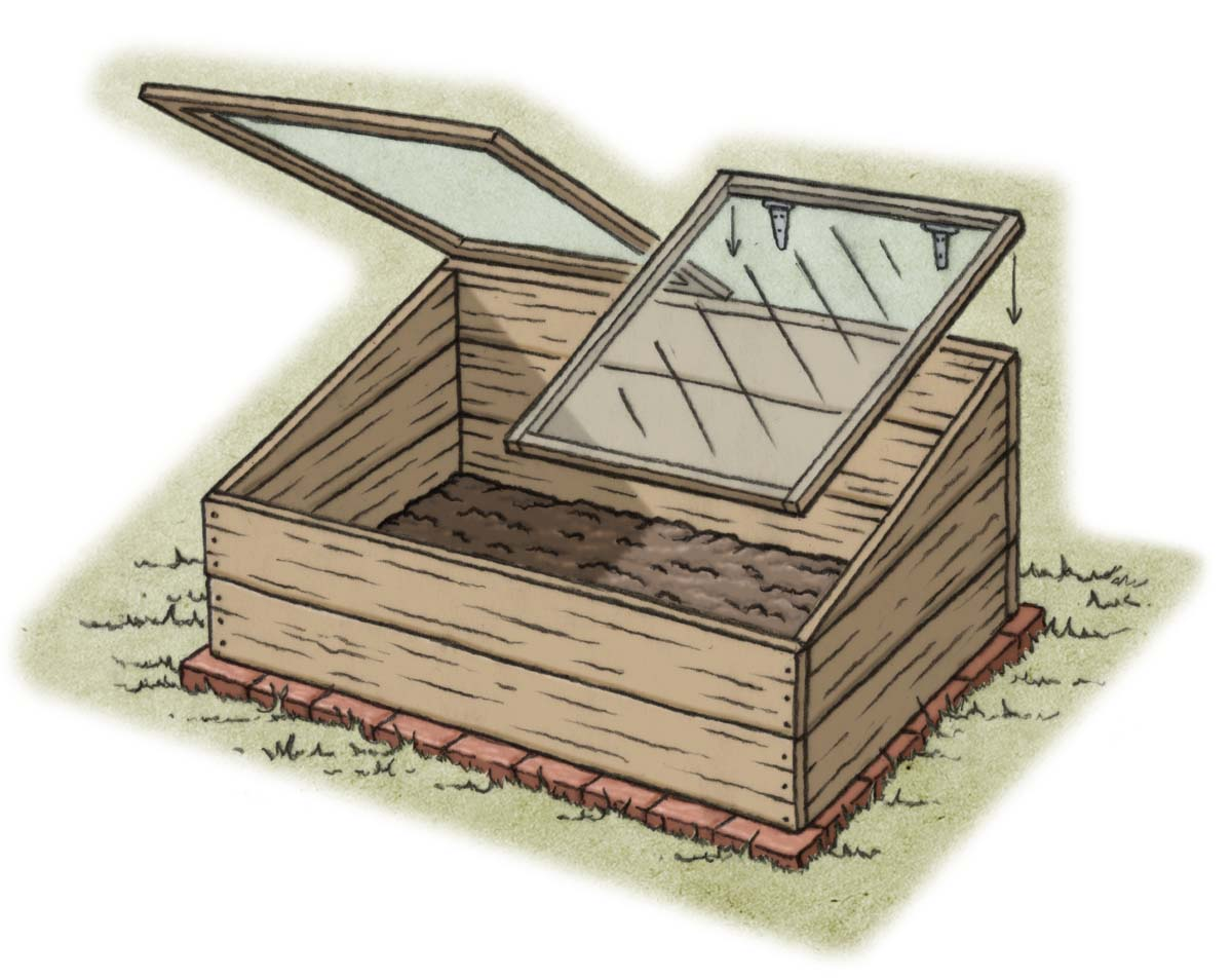 How-To: Plan a cold frame to extend the growing season - Portland ...