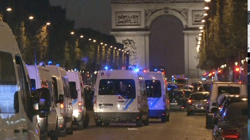 Paris Police Officer Killer and Another Wounded in Champs-Elysees Shooting
