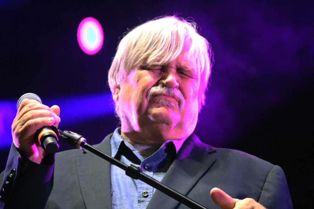 Col. Bruce Hampton performs Monday night at