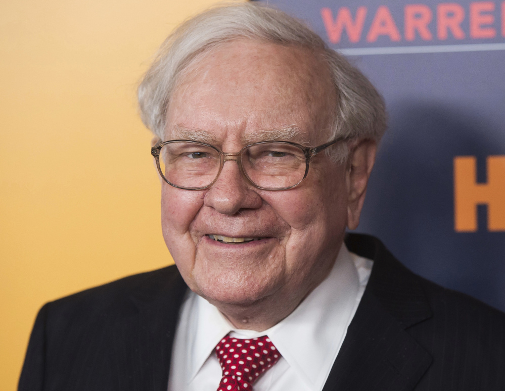 Warren Buffett says he's sold about a third of his stake in IBM this year, sending stocks down sharply Friday.