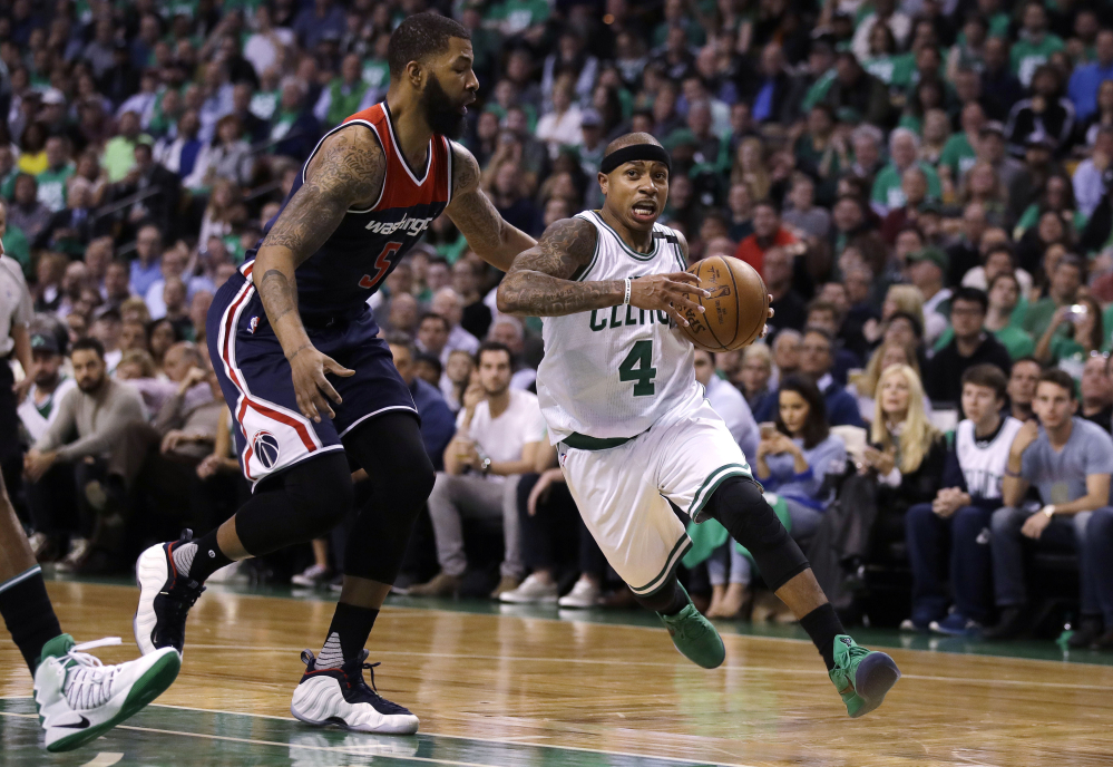 The importance of transition for the Celtics and Wizards