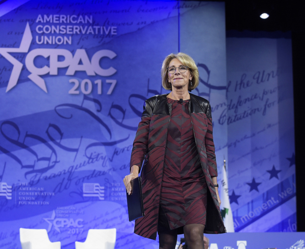 Betsy DeVos comes from a family steeped in Republican politics, and has long been an advocate of school choice, putting her in good standing with President Trump.