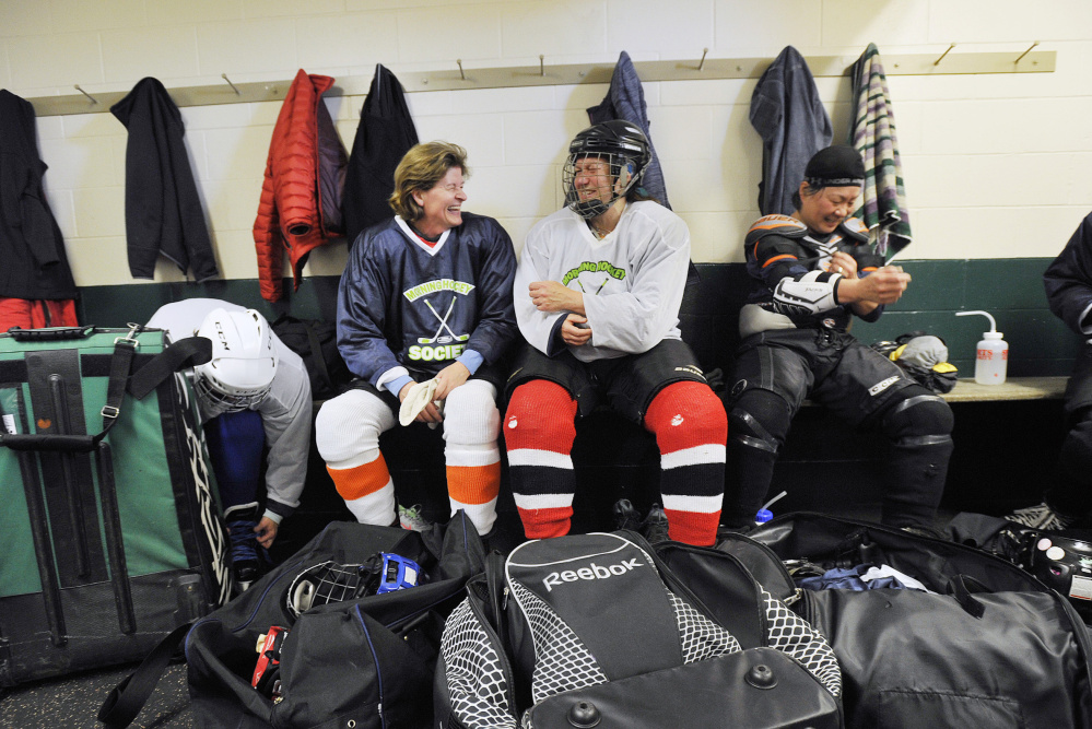 Mother's Day Special: These Hockey Moms Don't Just Drive To The Rink, They Drive To The Net As Well
