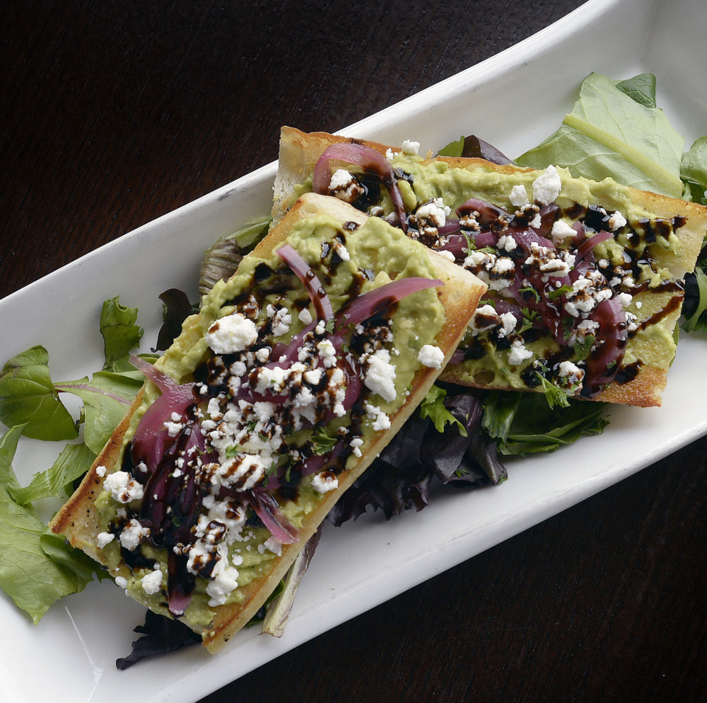 At Ri Ra in Portland, the avocado toast that is popular with millennials comes on a