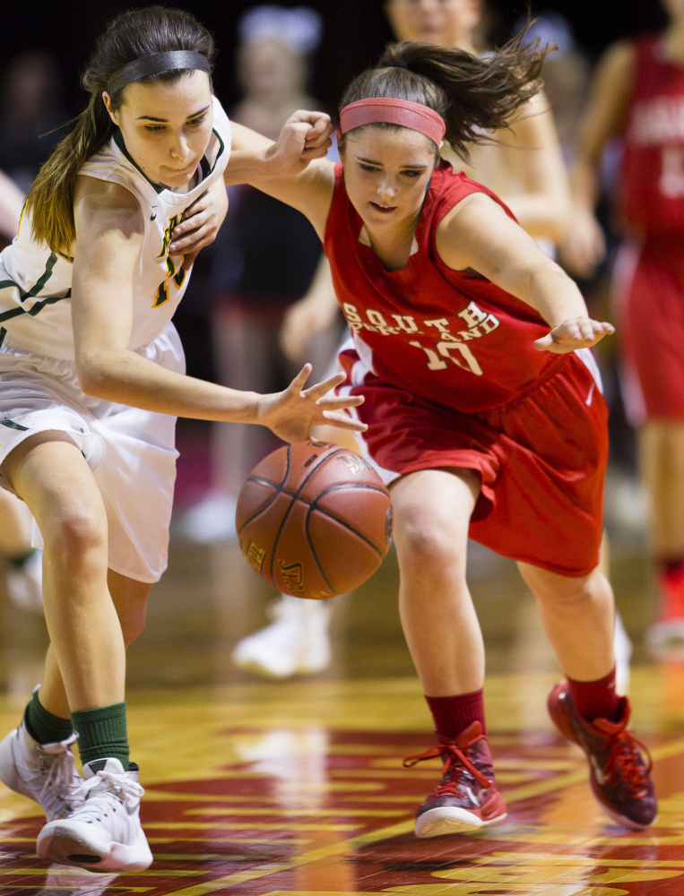 Whether it was applying defensive pressure, boxing out or just hustling, Lydia Henderson was a complete player for South Portland.
