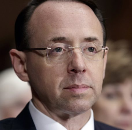 Deputy Attorney General Rod Rosenstein: Robert Mueller Won't Be Fired Without Cause