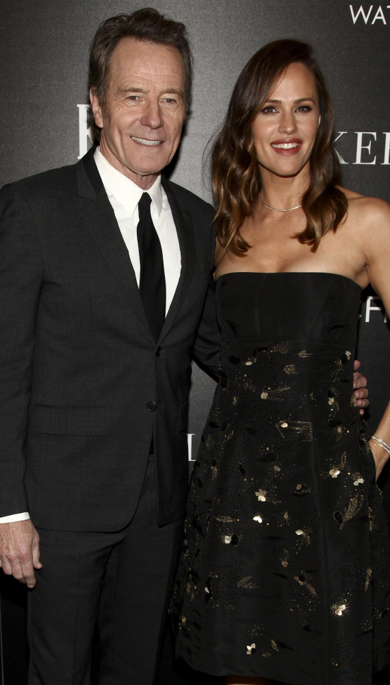 Bryan Cranston and Jennifer Garner attend a special screening of