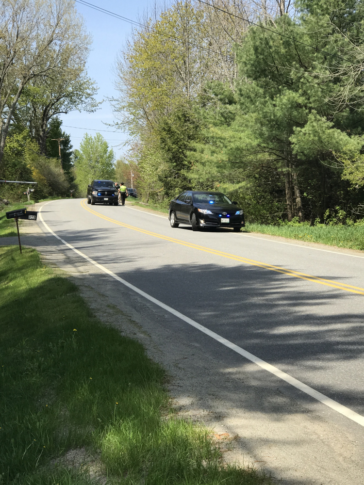Multiple Maine State Police and Kennebec Sheriff's Office units were at the scene Wednesday of a shooting on Sturtevant Hill Road in Readfield. One person was taken to the hospital with a gunshot wound, police said.